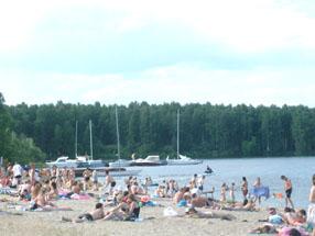 Тюмень, отдых, озеро Андреевское
