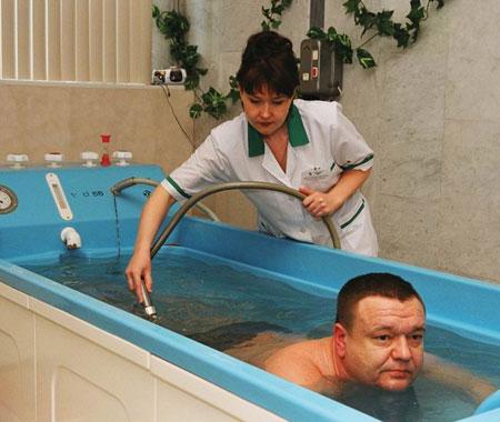 Лечение псориаза минеральной водой