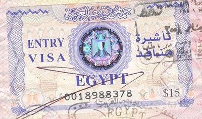 Египет отменил визы для россиян