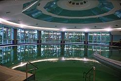 бассейн санатория Сибирь в СПА центре