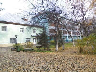 общий вид санатория Березовая роща в Тюмени